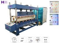 China 1200 PCS / H High Frequency Welding Machine 35KW For Plastic Window Curtain factory