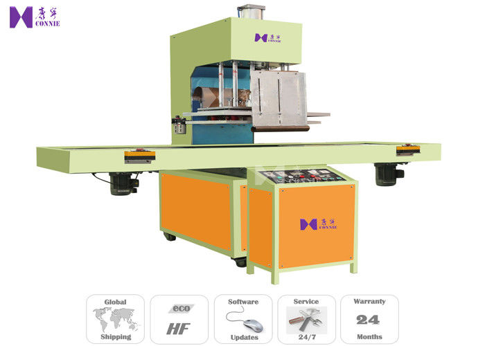 Electric Socket High Frequency Blister Packing Machine With Auto Slide Table