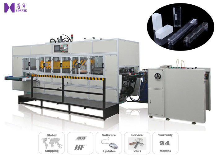 Automatic PVC Box Making Machine Hydraulic Drive mode , CE Approval