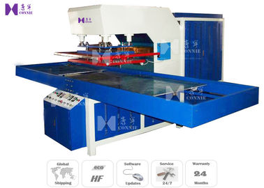 2 Slide Tables HF PVC Welding Machine , 0.6Mpa Air Pressure PVC Welding Equipment