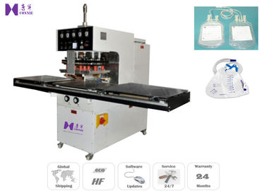 5M / Min High Frequency Blood Bag Making Machine 10KW With Auto Slide Table